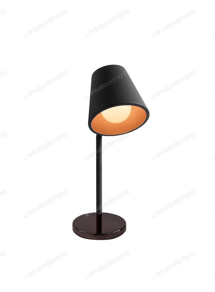 Lampe isoliert