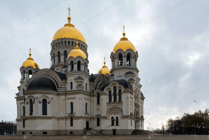 Russian orthodox cathedral of Ascention in Novocherkassk