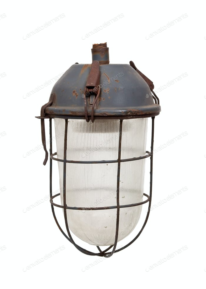 Old electrical lantern
