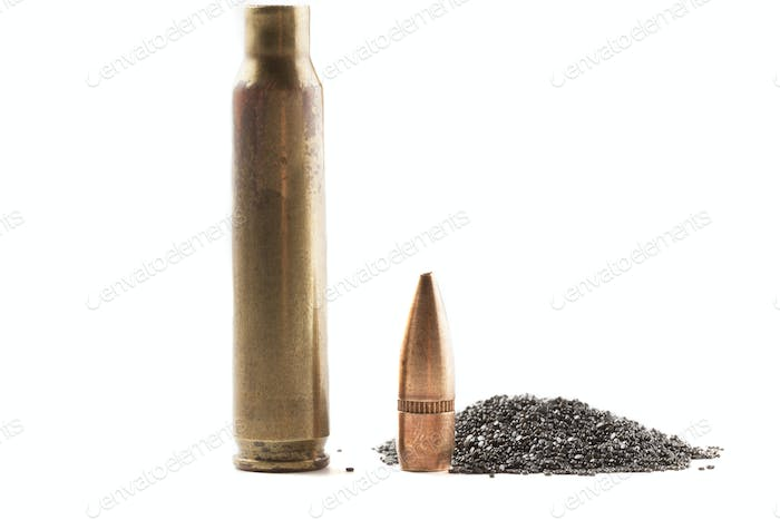 Bullet Shell and Powder