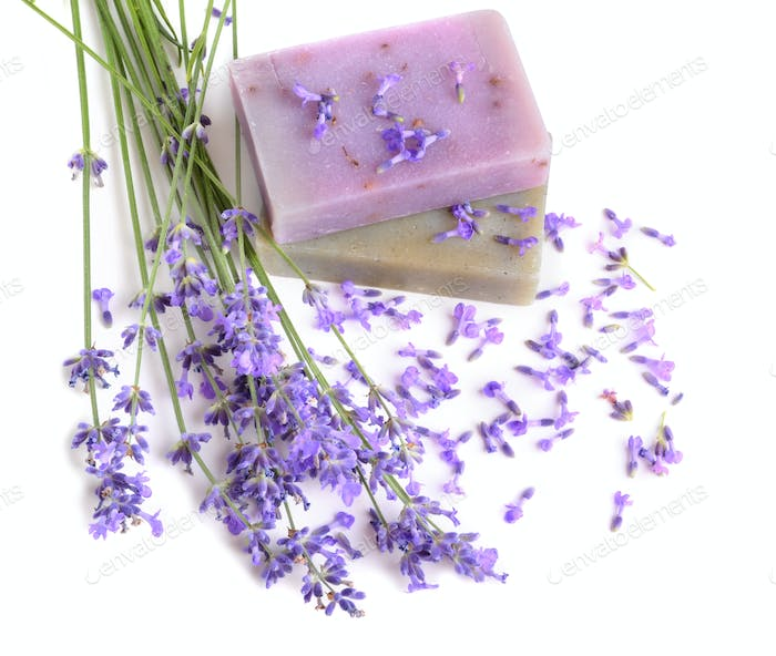 Natural soaps for bodycare