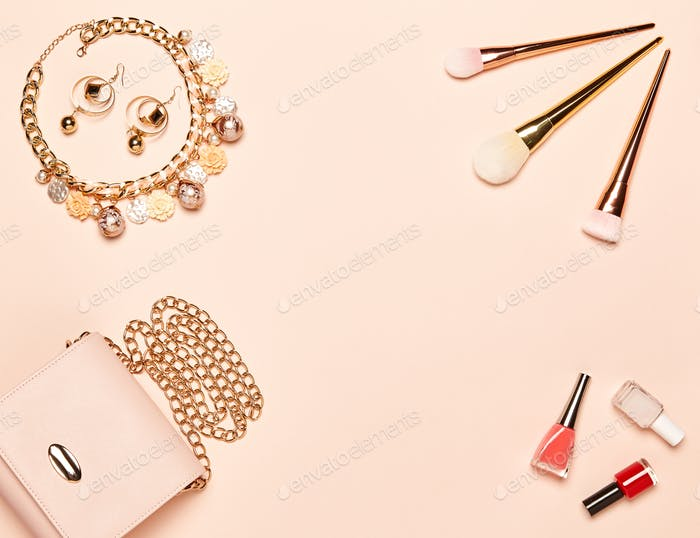 Fashion lady accessories set