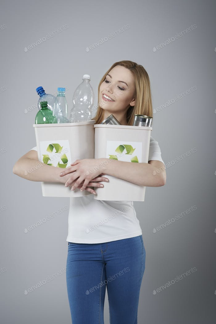 Recycling of waste is very necessary for environment
