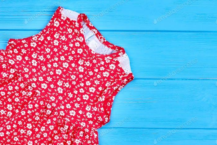 Baby child girl red fancy dress