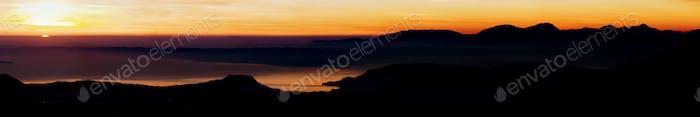 Lake Garda at Sunset, Italy