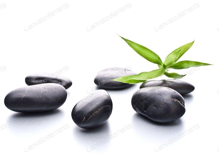 Zen-Kieselsteine. Stone Spa und Gesundheitskonzept.