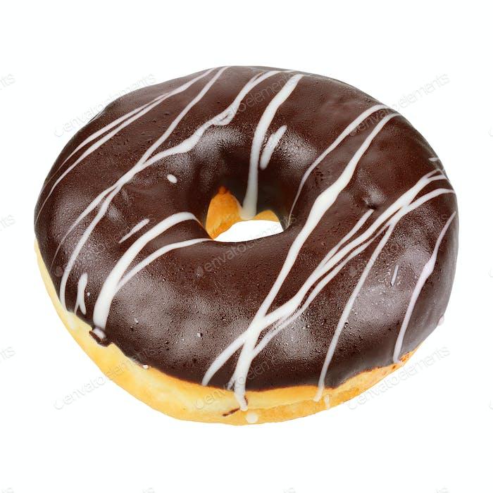 Schokolade Donut isoliert
