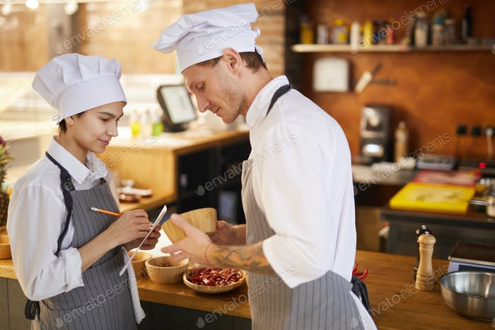 Professionelle Chefkoch Rezept