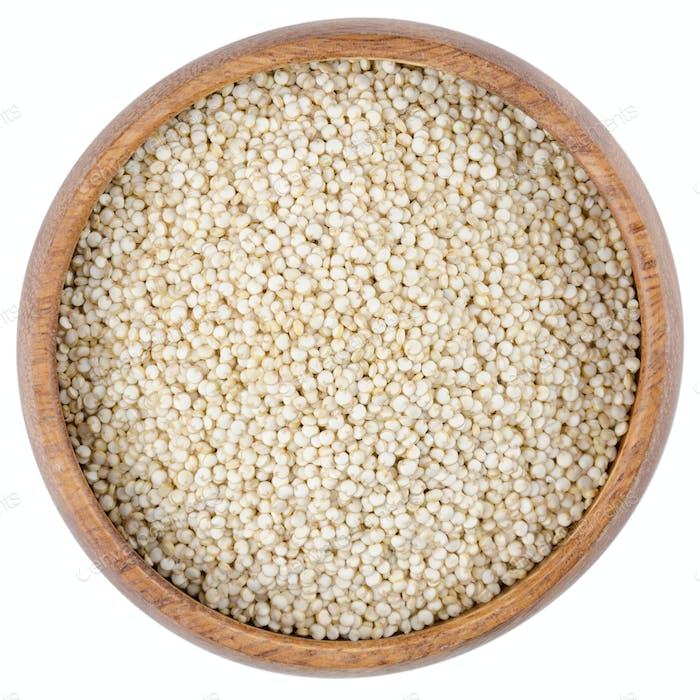 Quinoa Samen in einer Schüssel