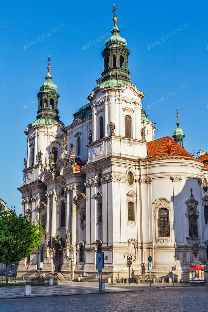 St. Nicholas church at Old Town Square, Prague