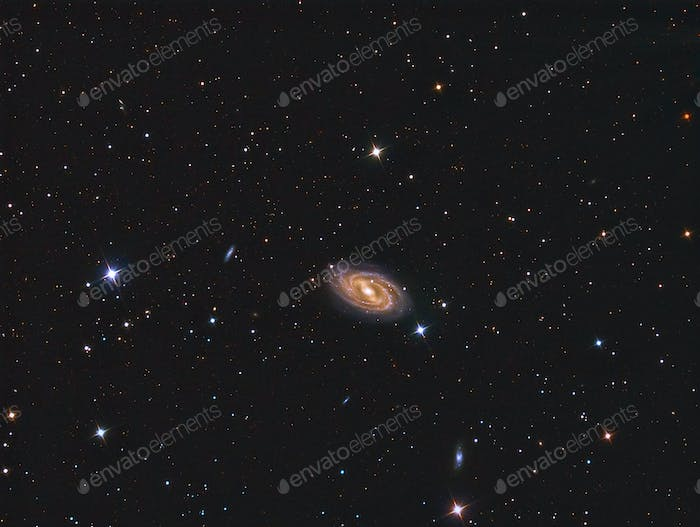 M109 barred spiral galaxy