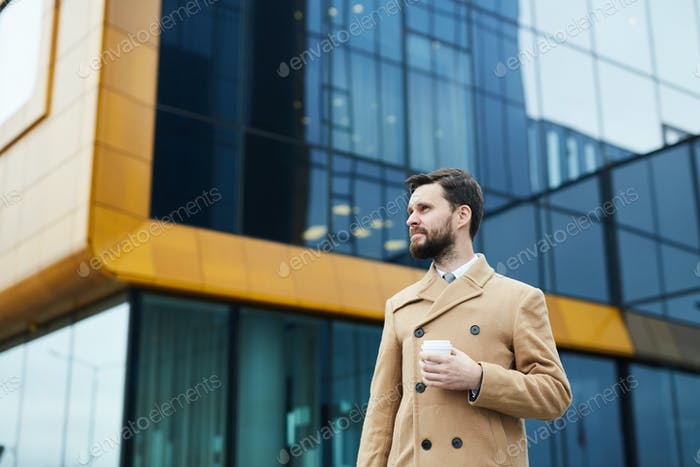 Urban businessman