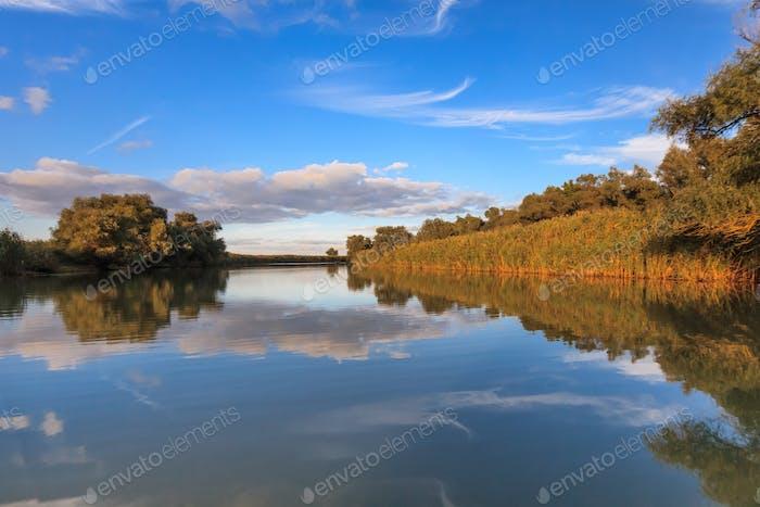 Flusskanal