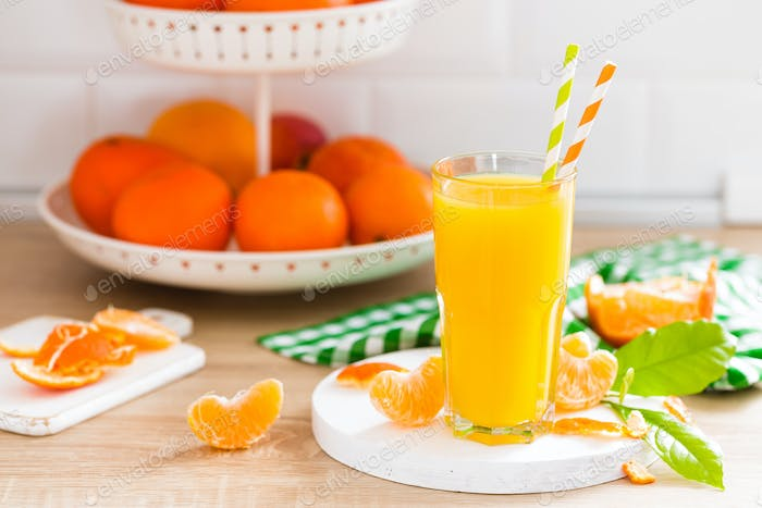 Tangerine orange juice