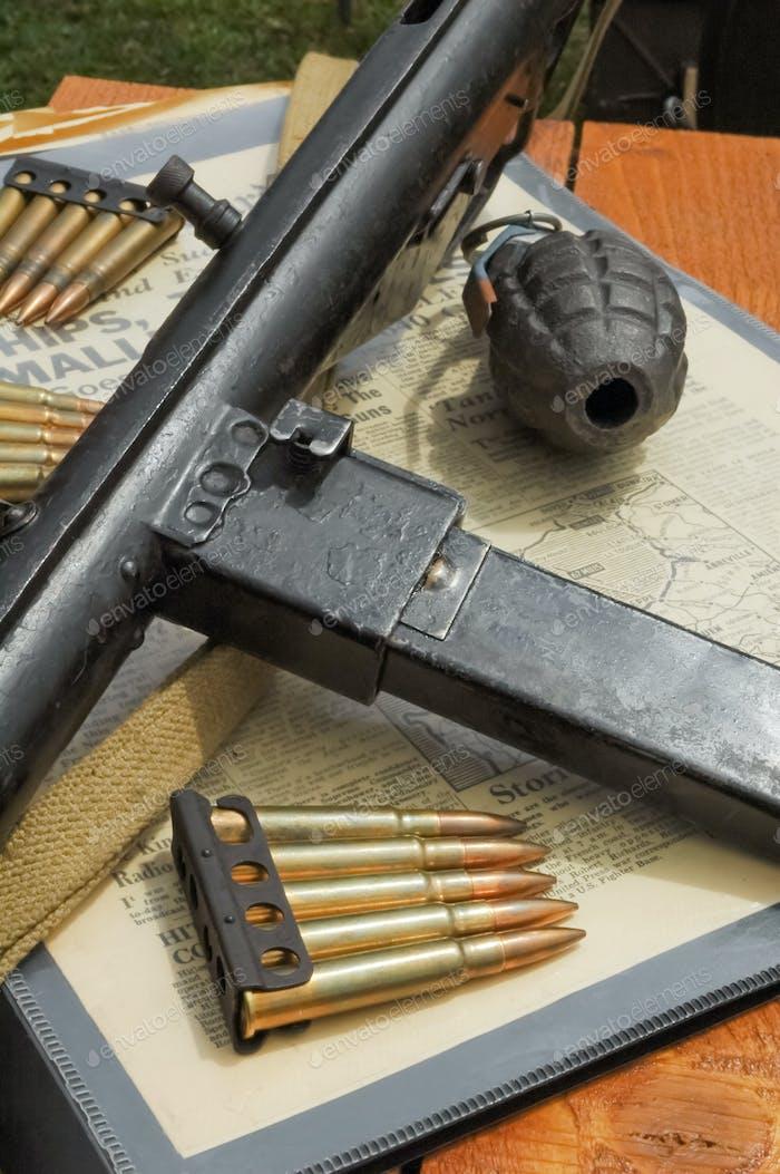 WW2 weaponry