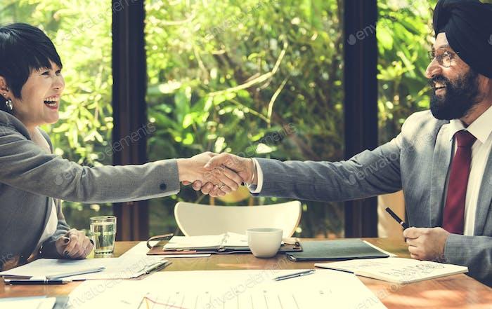 Business Unternehmens- People Working Konzept