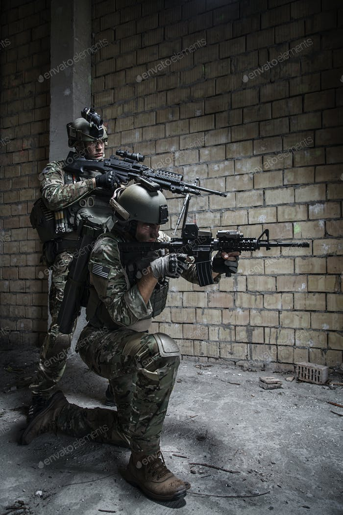 US Army Rangers auf Mission