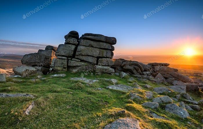 Staple Tor auf Dartmoor