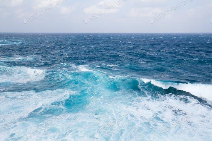 Waves in ocean