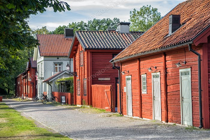 Wadkoping quarter in Orebro, Sweden