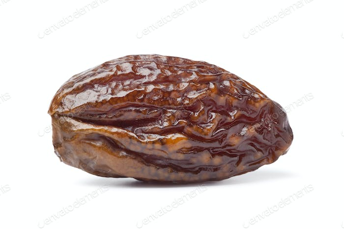 Whole single dried date