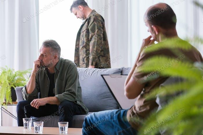 Treating post traumatic stress disorder