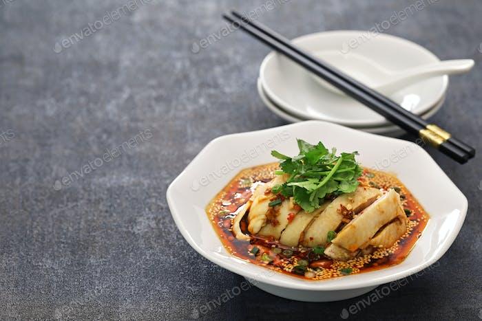 saliva chicken, chinese sichuan cuisine