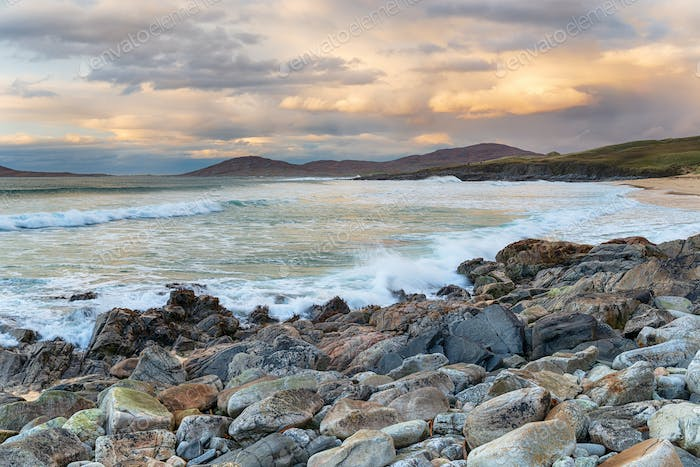 Traigh Lar Beach on the Isle of Harris