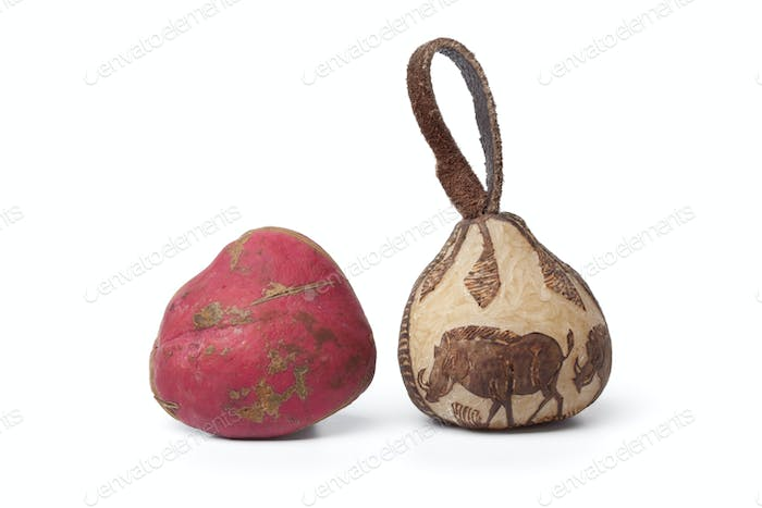 Kola nut and a souvenir