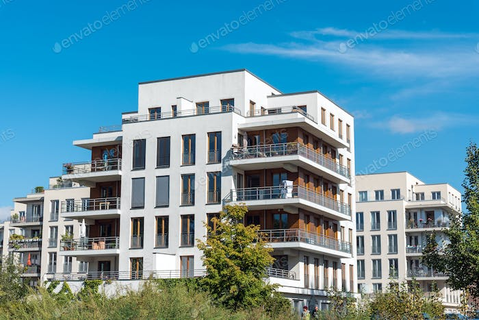 New apartment houses in Berlin