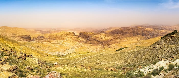 Mountains of Jordan Landscape