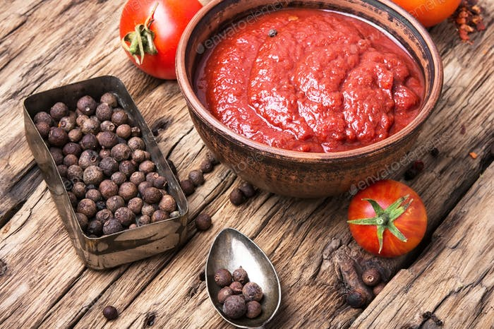 Tomatenketchup-Sauce