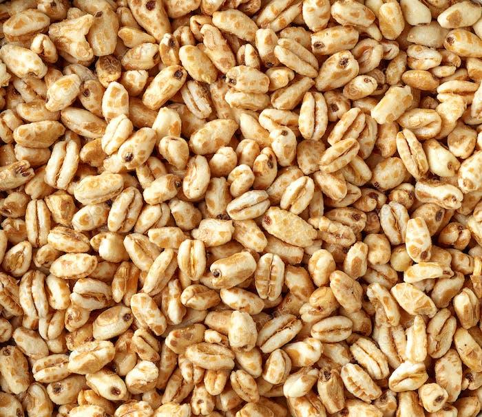 Weizenhonigkörner Hintergrund