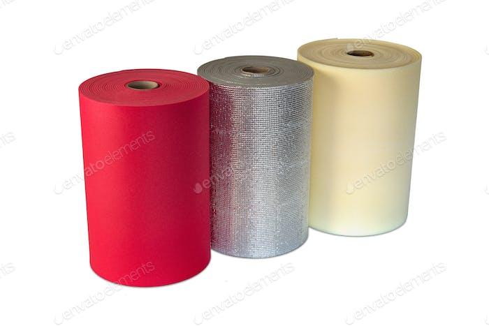 Multi Colour Rolls Polyethylene Material Shockproof Foam