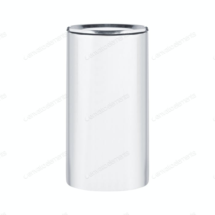 White Blank Tincan isolated