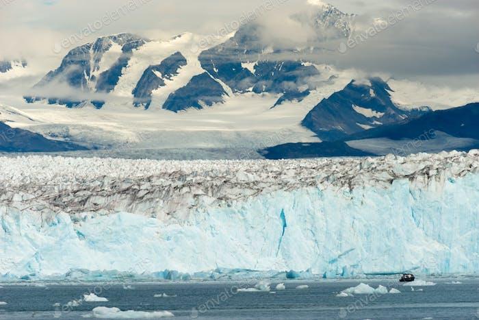 Boot Zwerge von Bergen Gletscher Alaska Kenia Fjorde