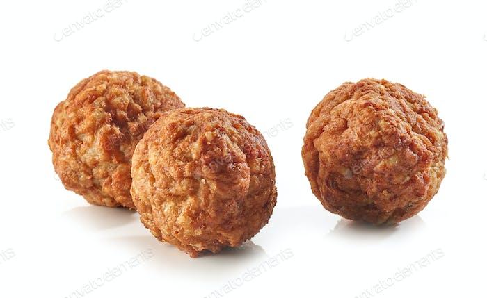 baked homemade meatballs