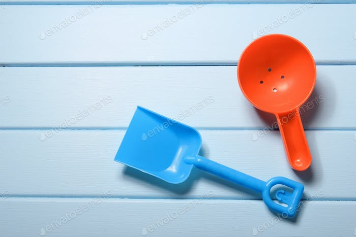 Plastic Spade and Scoop