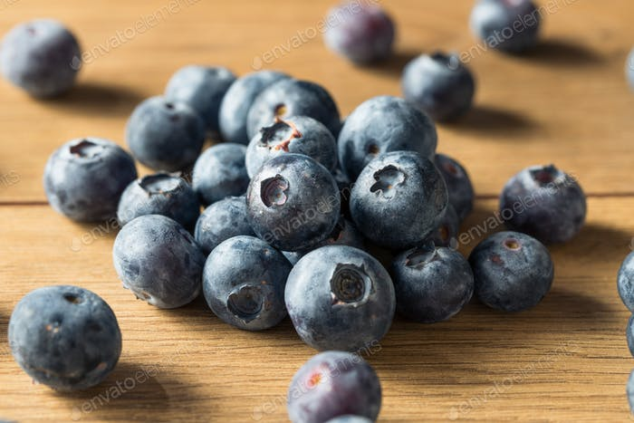 Raw Blue Organic Blueberries