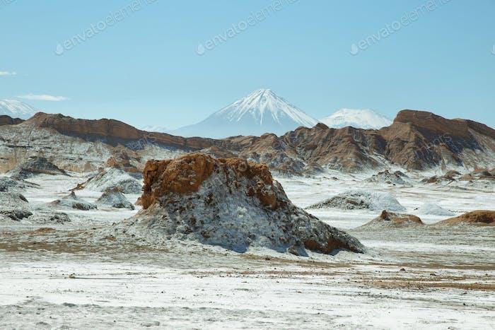 Wüstenlandschaft von Tal des Mondes
