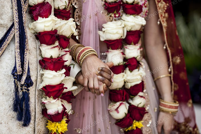 Detail shot from Indian Hindu wedding.