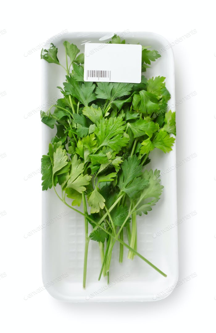 Packed parsley