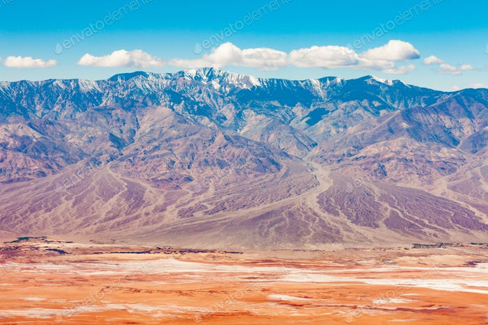 Panamint Mountains Death Valley NP California USA