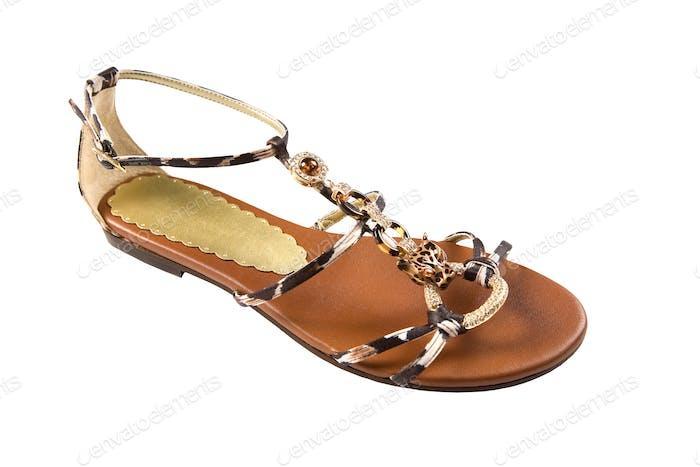 African jewel sandal