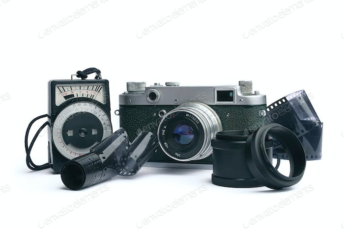 old camera  - 1950-1960 years