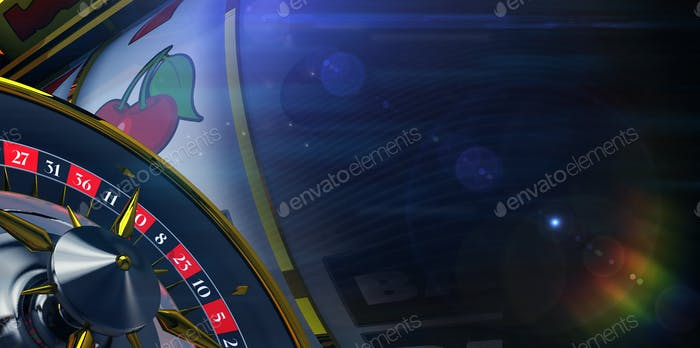 Slot and Roulette Banner