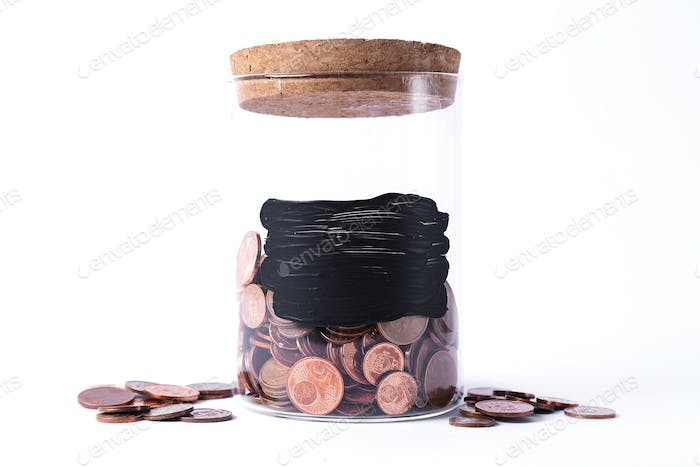 Jar for coins