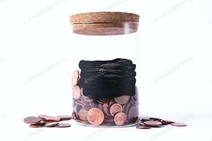 Tarro para monedas