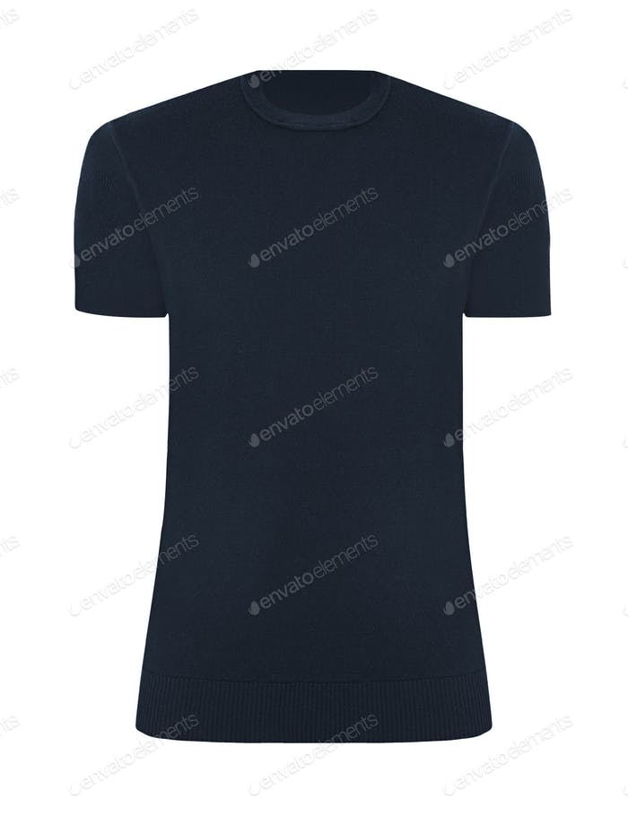 tshirt template isolated