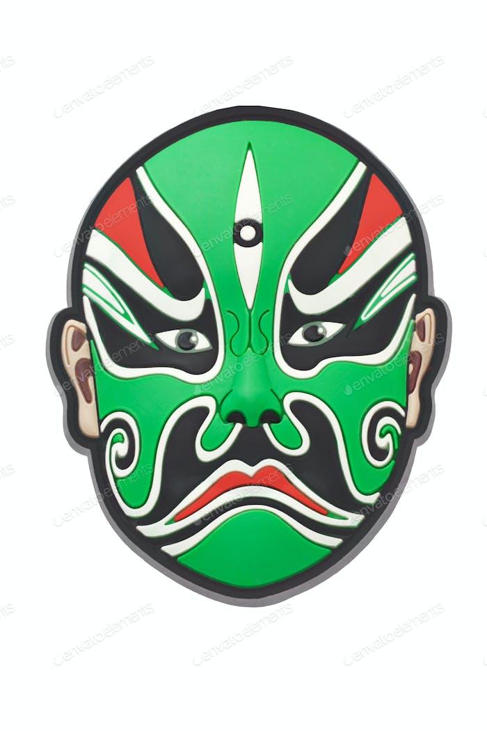 Chinese Beijing opera mask